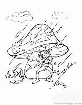 Coloring Cricket Quiet Very Carle Eric Insects Template Rain Tophat Mushroom Animals sketch template