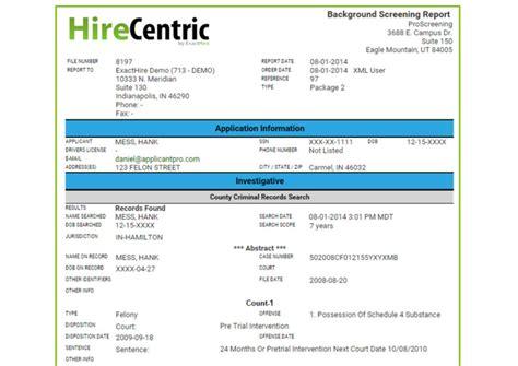 background checks pre employment screening exacthire