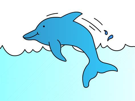 How To Draw Dolphins Step By Step   LONG HAIRSTYLES