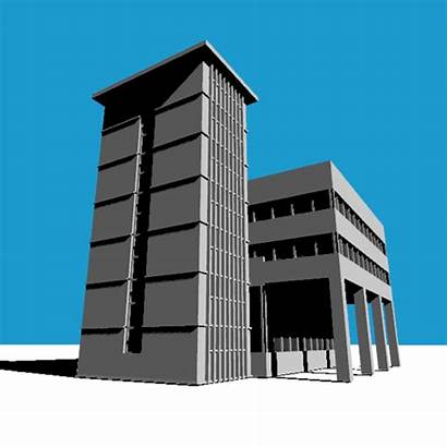 Procedural Architecture Brutalism Gifs Hypnotic Project Generation