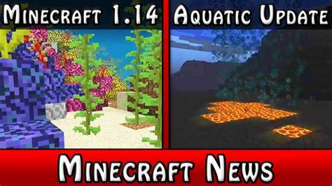 minecraft news minecraft  aquatic update minecraft blog