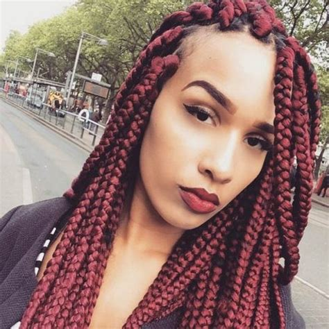 medium box braids with color 23 ultimate big box braids hairstyles with images tutorials