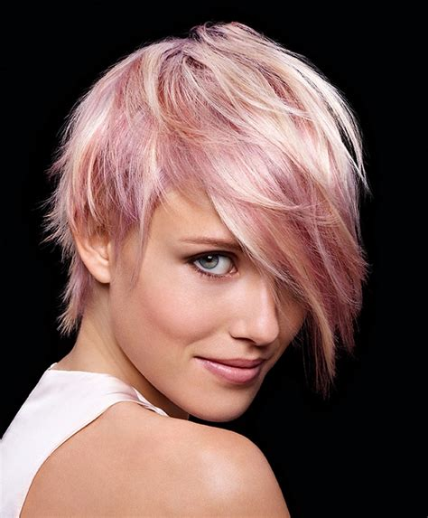Short Pink Hairstyle Ideas Hair World Magazine