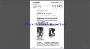 Volvo Trucks Corporation Field Service Tips Manual