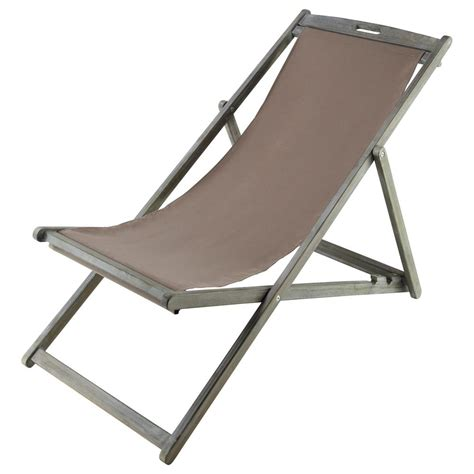 chaise longue chilienne chaise longue chilienne pliante en acacia grisée l 111