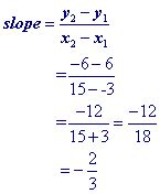 find equation of line from 2 points exle practice problems and tutorial