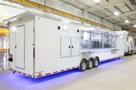 petro services mobile kitchen trailer prestige food trucks