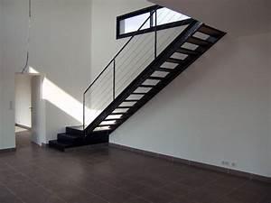 Escalier Metal Et Bois : atelier d 39 architecture ban gas villas villa 323 ~ Dailycaller-alerts.com Idées de Décoration