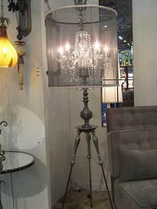 quotannikaquot floor lamp a gorgeous chandelier lies within a With annika chandelier floor lamp