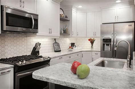 countertop color    white cabinets