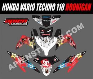 Striping Motor Vario Techno 110 Hoonigan