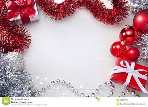 white red christmas background stock photo image 45659743
