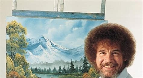 Bob Ross Was A Military Sargent, Hated His Puffy Hair