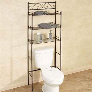 Scroll Bronze Bathroom Space Saver