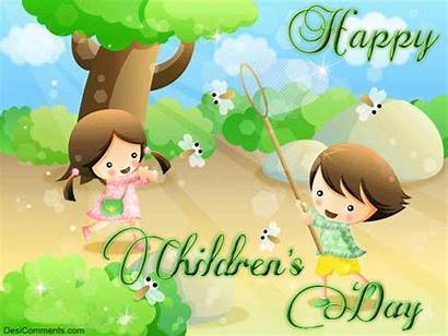 Happy Children Animated Glitters Childrens Wishes 3d