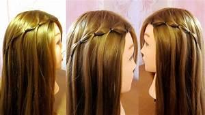Tuto Coiffure Cheveux Court : tresse cascade facile a faire soi meme tuto coiffure ~ Melissatoandfro.com Idées de Décoration