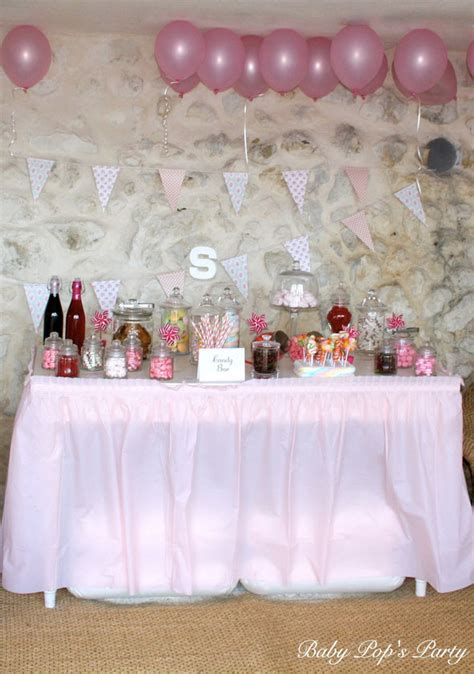 bapteme candy bar baby pops party baby shower france