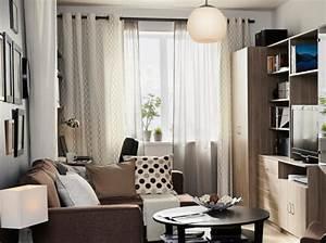 Rideaux Salon Ikea : id e d co rideaux salon ~ Teatrodelosmanantiales.com Idées de Décoration