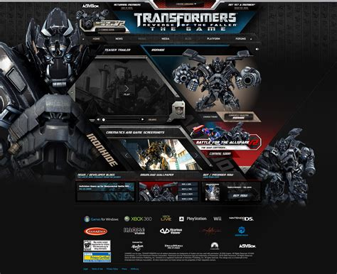 Transformers 3 Video Game
