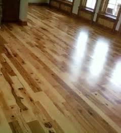 hickory wood flooring rustic living room other metro by woodstock hardwood flooring