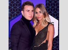 MTV EMAs 2016 Mario Gotze's beau AnnKathrin Brommel