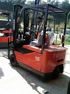 Toyota Electric Power Engine Forklift Supplier Selangor 5fbe15  1 500 Kg Capacit