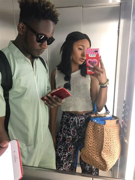 mr eazi bikini this cute photo of temi otedola mr eazi got fans talking
