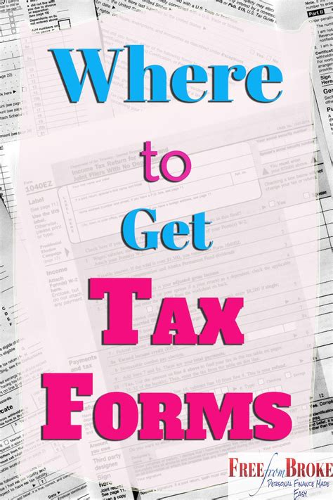 irs tax forms  options  file