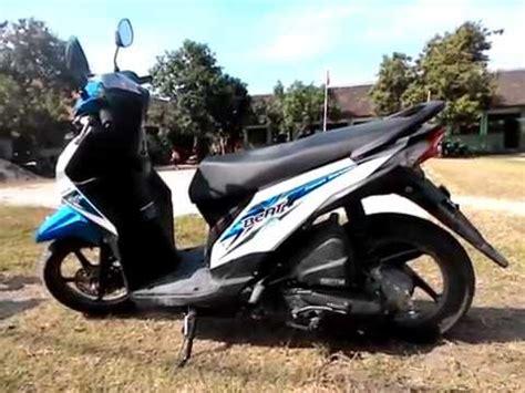 Modifikasi Honda Beat Fi Biru Putih by Modifikasi Beat Fi Biru Putih Modifikasi Motor Kawasaki