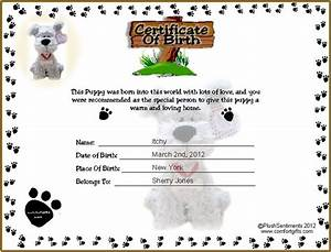 best 25 birth certificate ideas on pinterest obtain With free dog birth certificate template
