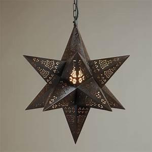 Moravian star pendant light fixture that will brighten
