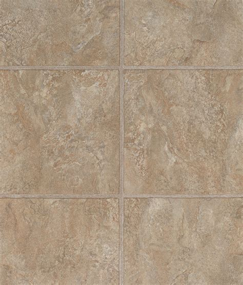 Precision Components Grout Luxury Vinyl Tile by Tuscan Beige 4mm Grouted Design Luxury Vinyl Tile Click