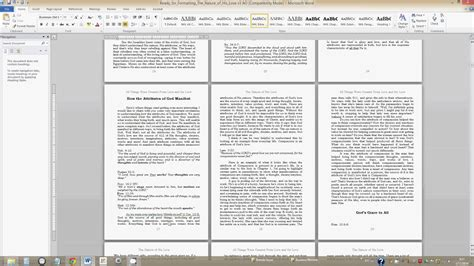format  book  create space  word video