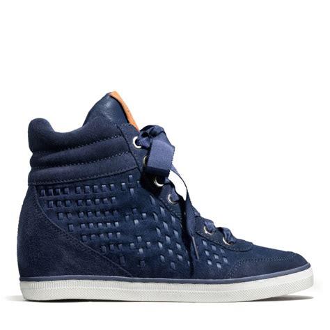 coach danae sneaker  navynavy blue lyst