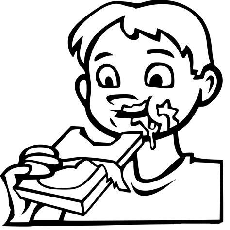 chambre bébé playmobil coloriage garçon mange du chocolat à imprimer sur