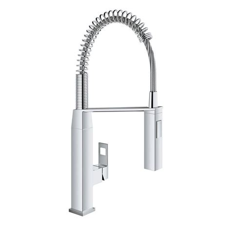 kitchen faucet grohe grohe eurocube single handle pull sprayer kitchen