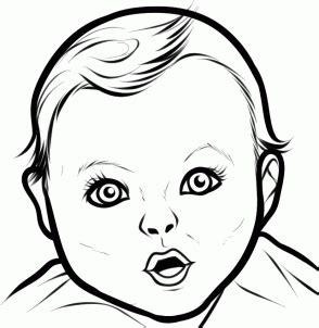 draw  gerber baby step  step stars people