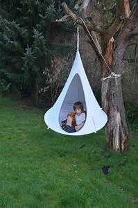 Fauteuil Suspendu Enfant : fauteuil suspendu bonsai tente 120 cm pour enfant gris clair cacoon made in design ~ Melissatoandfro.com Idées de Décoration