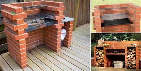 build  brick barbecue   backyard home design garden architecture blog magazine