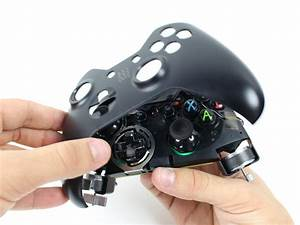 Xbox One Wireless Controller Faceplate Replacement