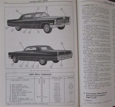car engine manuals 1995 cadillac deville auto manual 1968 cadillac shop service manual fleetwood calais deville eldorado comm chassis
