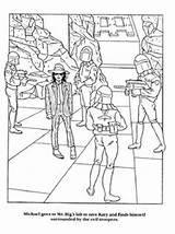 Coloring Jackson Michael Books Colouring Adult Mj Moonwalker Michaels sketch template