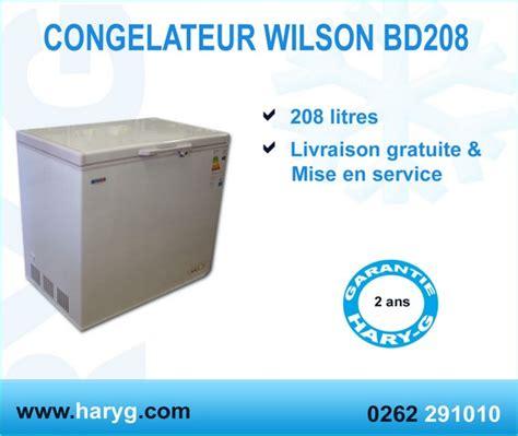 congelateur coffre livraison gratuite congelateur coffre wilson type bahut bd208 208l