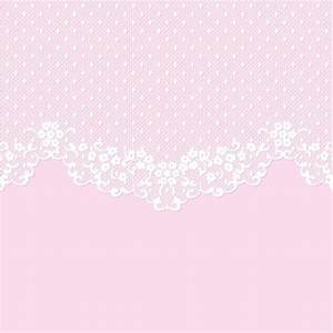 White lace with pink background vector 01 - Vector ...