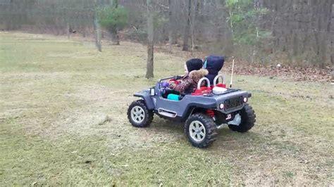 Modified Power Wheels Jeep Hurricane Steering