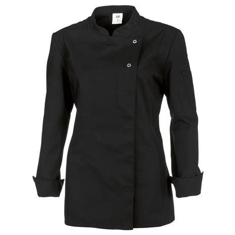 veste de cuisine veste de cuisine femme manches longues peut bouillir noir
