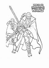 Coloring Pages Mace Wars Star Episode Template sketch template