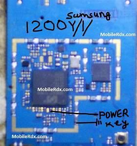 Samsung E1200y Power On