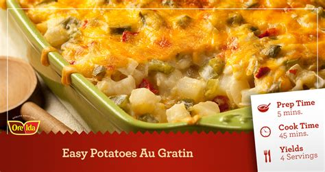 easy potatoes simple potato gratin recipe dishmaps
