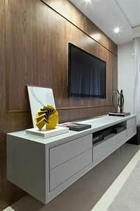 Tv Wandpaneel Holz : tv wandpaneel 35 ultra moderne vorschl ge beesondere wandverkleidungen ~ Markanthonyermac.com Haus und Dekorationen